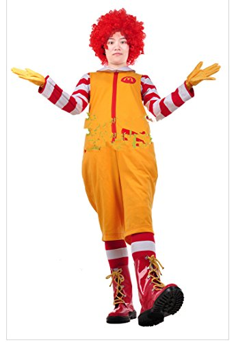 Mister Bear Ronald McDonald Cosplay Costume for $<!--$104.95-->
