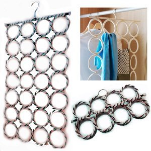 Ikea komplement multi use hangers belts scarves shalws for Ikea belt hanger