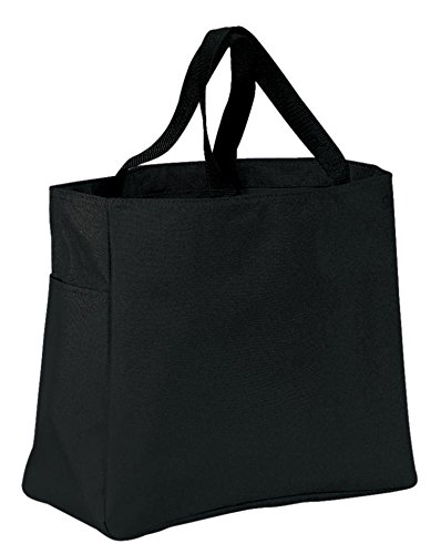 port-company-luggage-and-bags-improved-essential-tote-osfa-black