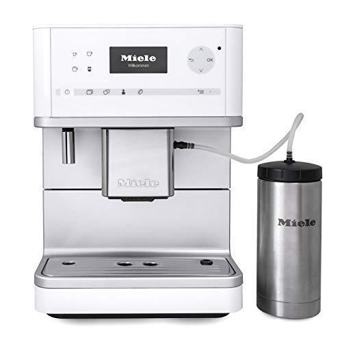 Miele CM6350 OneTouch Super-Automatic Countertop Coffee & Espresso Machine (Lotus white)