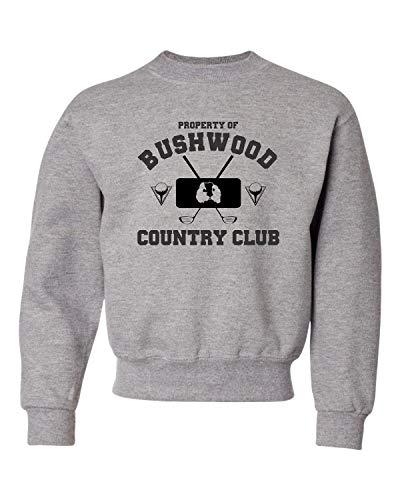 0ae3e9c13c620 Small Oxford Youth Property of Bushwood Country Club Caddyshack Inspired  Crewneck Sweatshirt