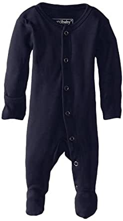 Lovedbaby Baby-Boys Organic Footed Overall, Navy, 0-3m