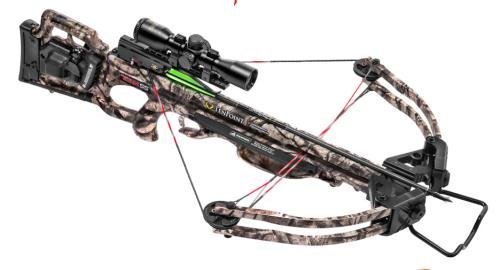 Tenpoint Titan SS Crossbow Package with 3X Pro-View 2 Scope, ACUdraw 50, 6 Pro-Elite Carbon Arrows, and 3-Arrow Instant Detach Quiver