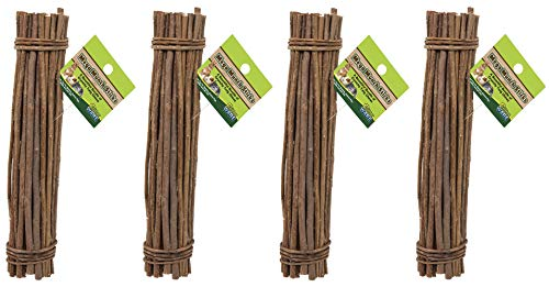 (4 Pack) Ware Natural Willow Mega Munch Sticks Small Pet Chew - Willow Wild