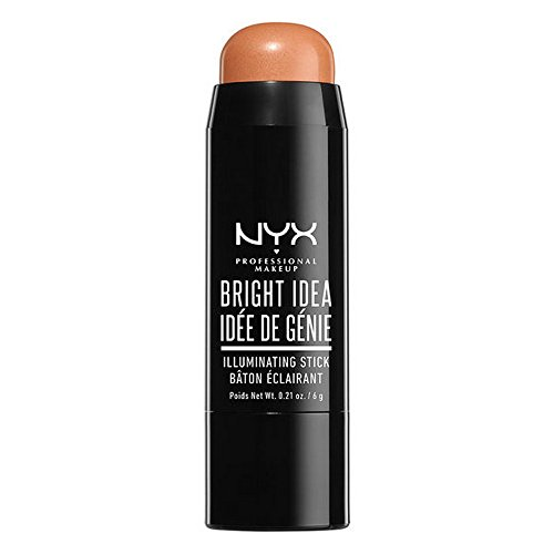 NYX Professional Makeup Bright Idea Stick, Bermuda Bronze, 0.21 Ounce
