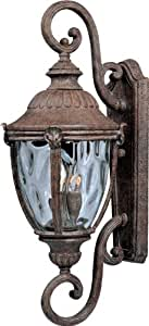 Maxim Lighting 40289WGET Morrow Bay VX-Outdoor Wall Mount 3-Light Lantern
