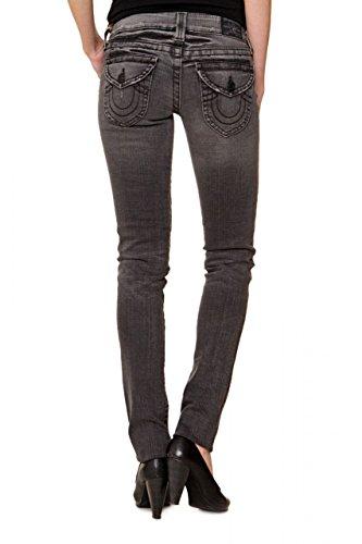 True Religion Slim Leg Jeans JULIE, Color: Grey, Size: 27