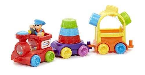 - Little Tikes 3 in 1 Sort & Stack Train, Multicolor