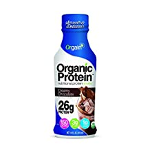 Orgain - Organic Nutritional Protein RTD Shake 26g Creamy Chocolate - 12 Bottle(s)