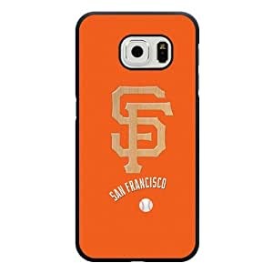 ArtPopTart Galaxy S6 Edge Case,Fashion MLB San Francisco Giants Samsung Galaxy S6 Edge Case ,Black Hard Plastic,Coolest 2015 Cell Phone Case