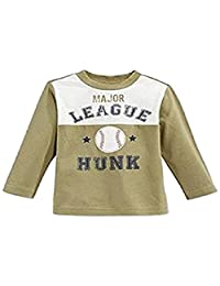First Impressions by Macy's Baby Boys' Long-Sleeve Major League Hunk Soft Olive