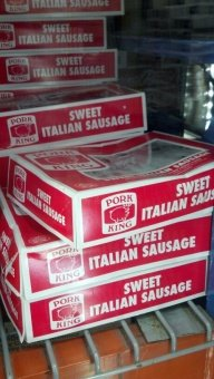 Pork King: Sweet Italian Sausage 5 Lb.