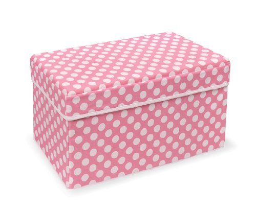 Badger-Basket-Company-Double-Folding-Storage-Seat-Pink