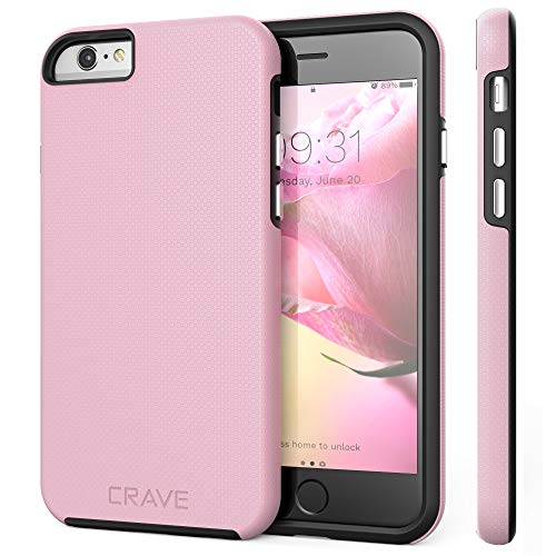 iPhone 6 Case, iPhone 6S Case, Crave Dual Guard Protection Series Case for iPhone 6 6s (4.7 Inch) - Pink