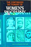 Continuum Dictionary of Women's Biography, , 0826404170
