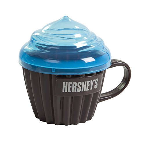 Hershey's Lava Cake Maker, Cupcake Maker, Instantly Create Microwaved Mini Cakes, Recipe  Included (Cake Lava Mix)