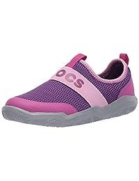 Crocs Swiftwater Easy-on Logo Zapato | Zapatos sin Cordones para niños y niñas Tenis para Unisex Adulto