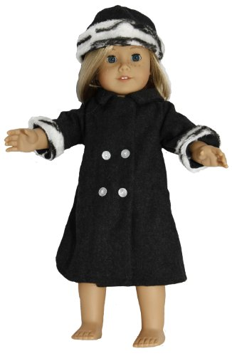 BUYS BY BELLA Winter Coat for 18 Inch Dolls Like American Girl