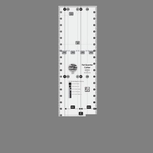 (Creative Grids Fat Quarter Cutter 6
