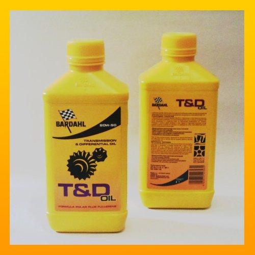 Bardahl T & D Gear 80 W90 de aceite (1 L) 421140