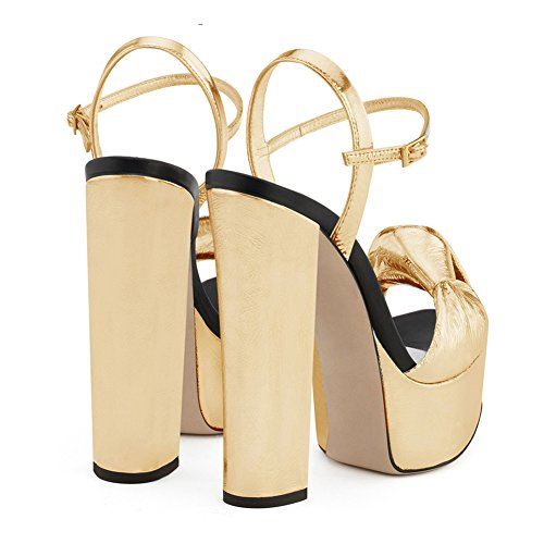 Papillon KJJDE Gold Di Tacco Pole TLJ Elegante 3777 Super Sexy Donna Dance Alto Sexy Moda 6aSq7r06w