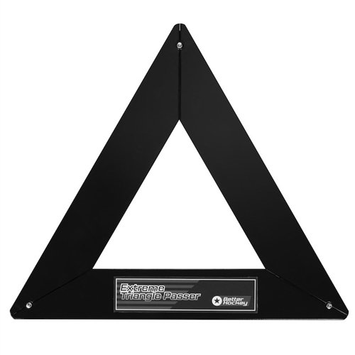 "Better Hockey Extreme Triangle Hockey Passer | Offers Three 22"" Passing Slots 