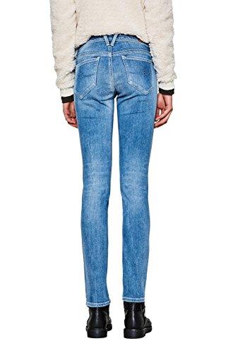 Jeans By Slim blue Edc Esprit Wash Light 903 Blu Donna aEnqdRwx