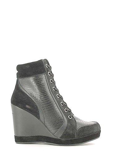 Fornarina WoMen Britt Brogue Lace-up Half Shoe Black 00
