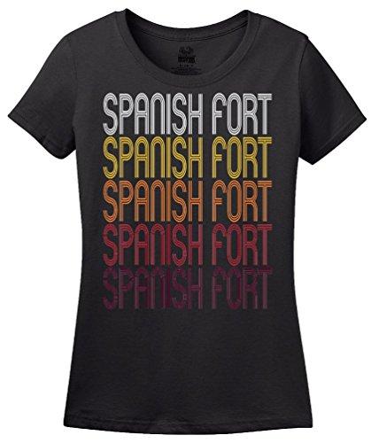 Spanish Fort, AL | Retro, Vintage Style Alabama Pride - Spanish Fort Al