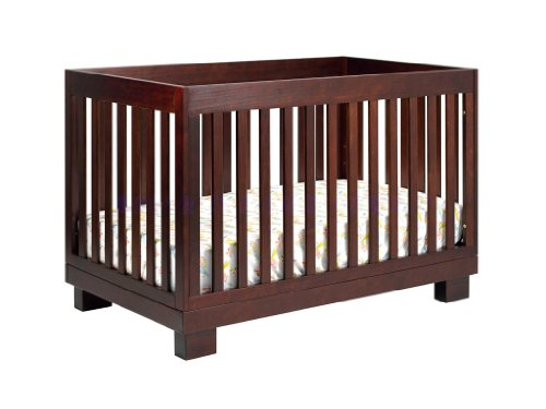babyletto modo 3in1 convertible crib with toddler bed conversion kit espresso