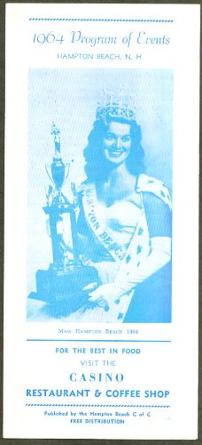 Miss Hampton Beach Program of Events folder 1964 (Event Folder)