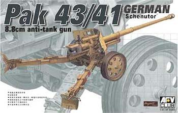 (Pak 43/41 German Scheuntor 8.8cm Anti-Tank Gun 1-35 AFV Club)