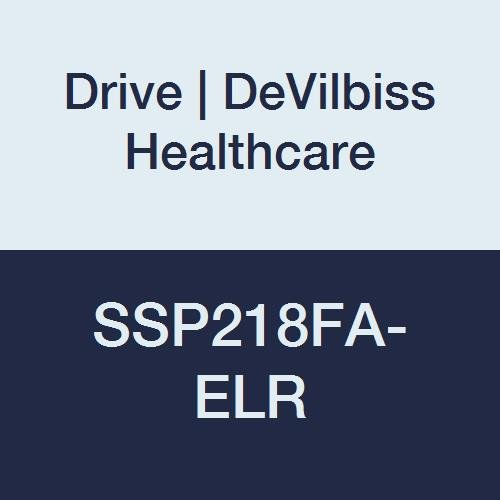 Drive DeVilbiss Healthcare SSP218FA-ELR Silver Sport 2 Wheelchair, Height 36''
