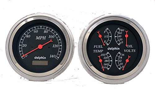 (Dolphin Gauges 1947 1948 1949 1950 1951 1952 1953 Chevy Truck 5