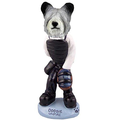 (Skye Terrier Umpire Doogie Collectible Figurine)