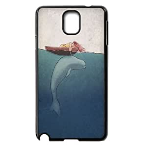 Cheap Dolphins at oceans Case Cover Best For Samsung Galaxy NOTE3 Case Cover FBGH-T490694