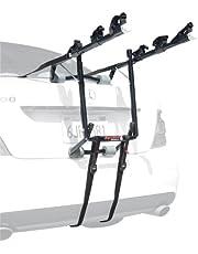 Allen Sports Deluxe 3-Bike Trunk Mount Rack, Model 103DB Black/ Silver