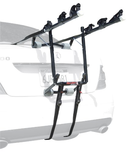Allen Sports Deluxe 3-Bike Trunk Mount Rack - Mount Rack 3 Bike Carrier
