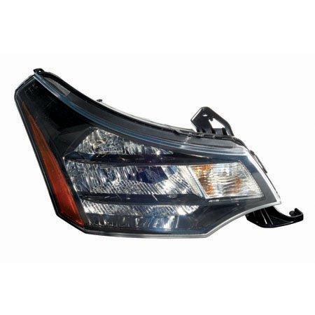 Fits Ford Focus Coupe 2009-2010/Sedan 2010-2011 Headlight Assembly (10-2011 Sedan SES Model) Passenger Side (CAPA ()