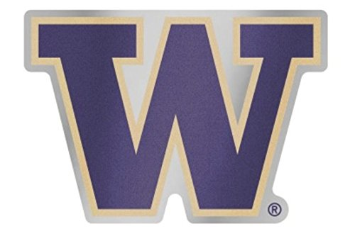 (Wincraft NCAA University of Washington Huskies Plastic Auto Badge Sticker Decal)