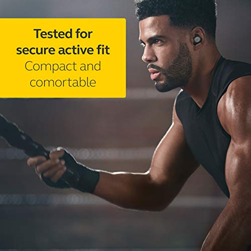 Jabra Elite Active 75t Earbuds – Passive Noise Cancelling True Wireless Life for Calls and Music – Titanium Black
