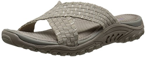 flip reggae roots flop Vibe Skechers Silver Taupe tv7nqwd