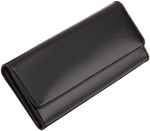Jack Georges   Napa Leather Clutch,Black,One (Jack Georges Italian Leather Handbag)
