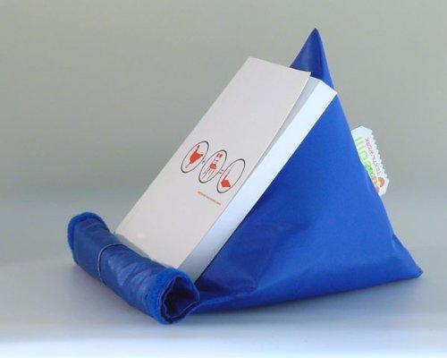 Lesehilfe ILSEBILL Bücherkissen Blau