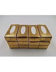 Gold Miniature Napkin 12 Pieces