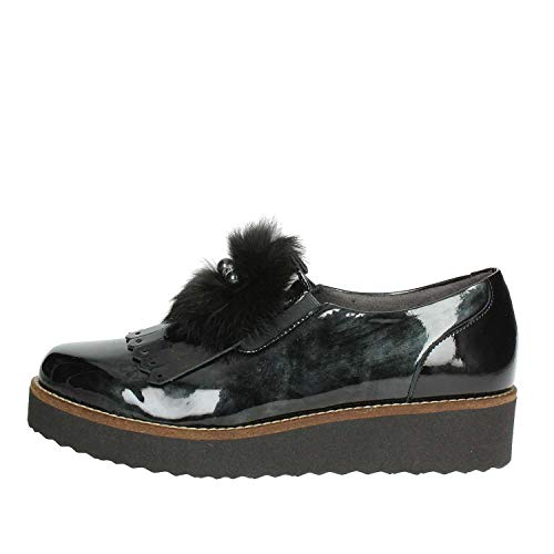 Femme Chaussure 5410 Pitillos Noir Basse wqU6RxWPt