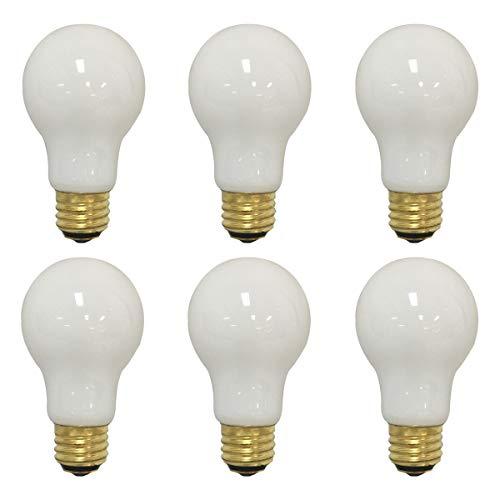 Royal Designs LB-1003-6S Short Three Way 30/70/100-Watt A19 130V Incandescent Light Bulb, 6 pack, Soft White ()