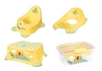 Sedile del water sgabello vasino dei box winnie the pooh