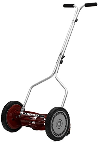 Hand Reel Push Lawn Mower 5-Blade 14