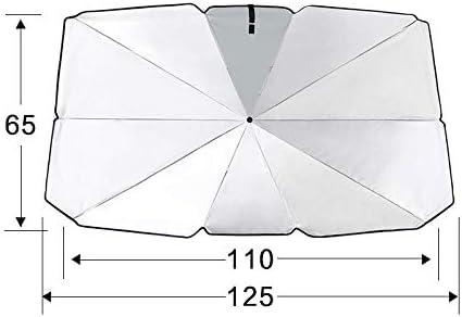 Gmorosa Car Windshield Sun Shade UV Rays /& Heat Sun Visor Protector Foldable Reflector Umbrella Car Front Sunshade Protection Cover Sunscreen Heat Insulation car Front Windshield Folding Sunshade